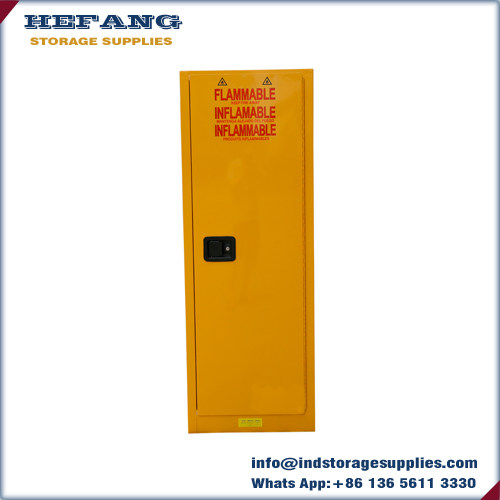 22 Gallon vertical flammable safety storage cabinet