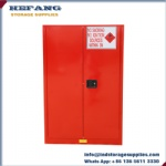 45 Gallon combustible liquid safety storage cabinet